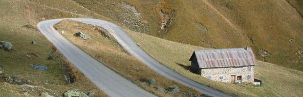 ruta de los Grandes Alpes